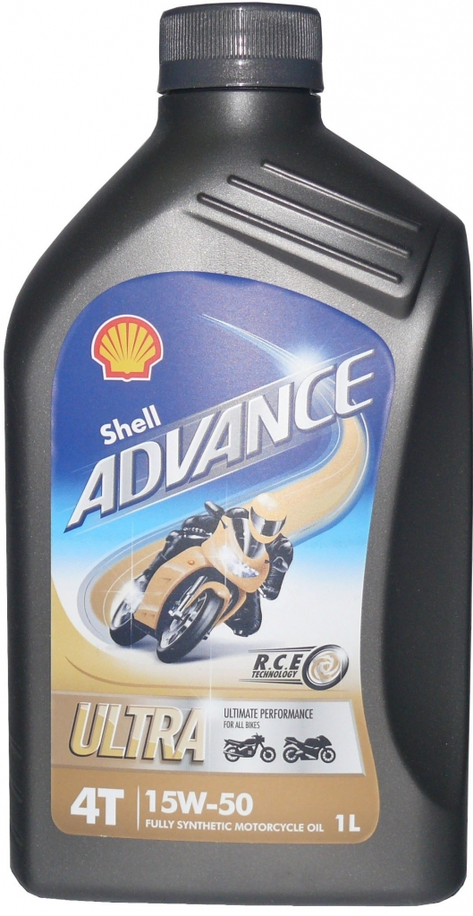 Shell Advance Ultra 4T 15W-50 20 L