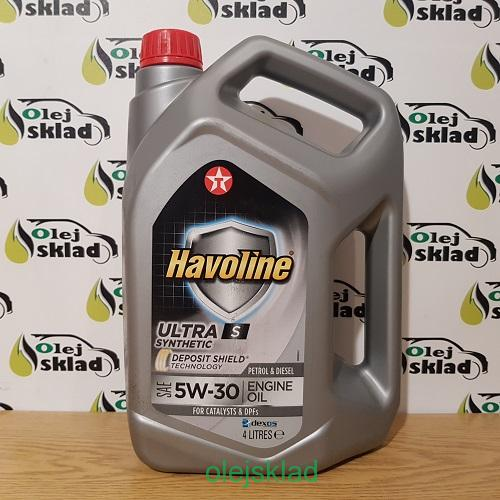 TEXACO HAVOLINE ULTRA S 5W-30 4L