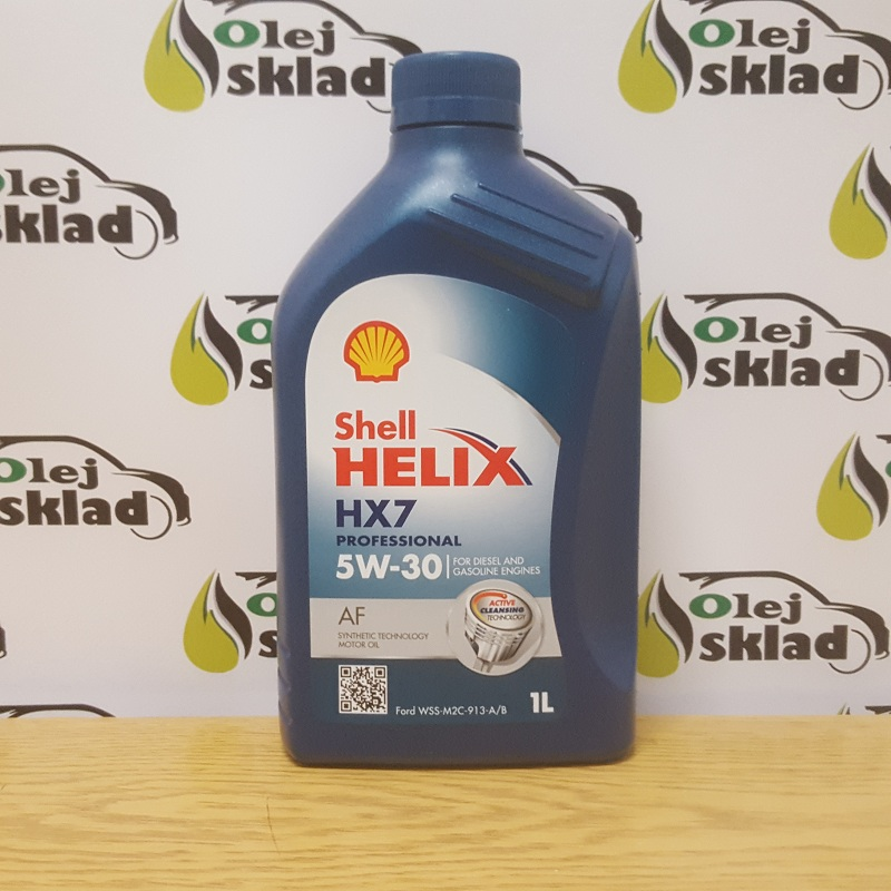 Shell HELIX HX7 PROFESIONAL AF 5W-30 1L