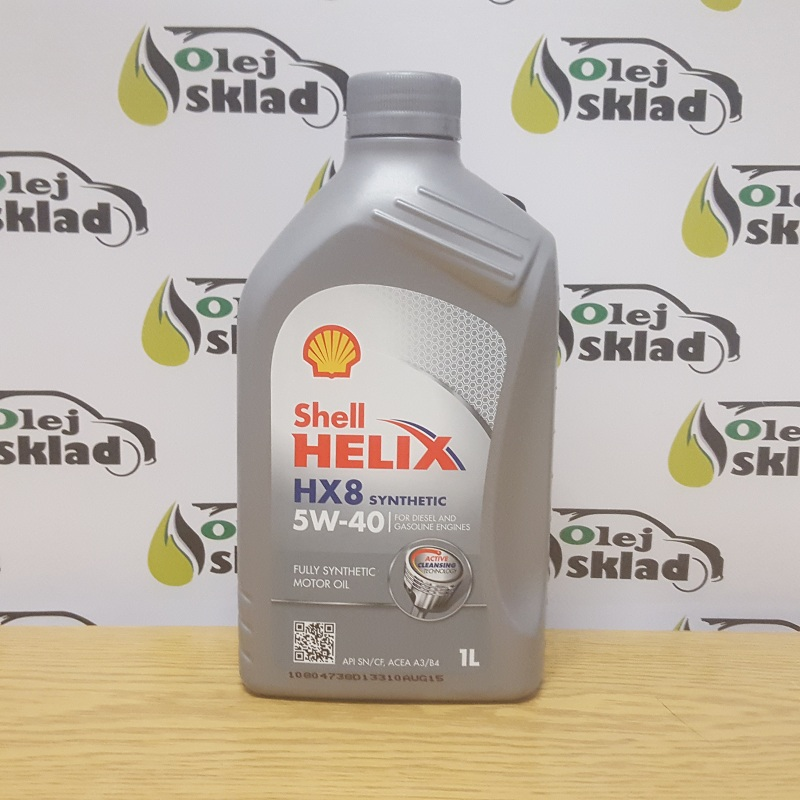 VÝPREDAJ! Shell HELIX HX8 Synthetic 5W40 1L