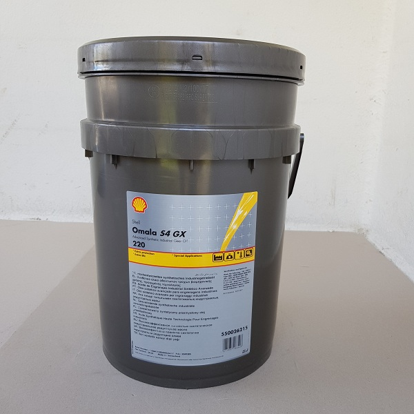 Shell Omala S4 GX 220 (HD 220) 20 l