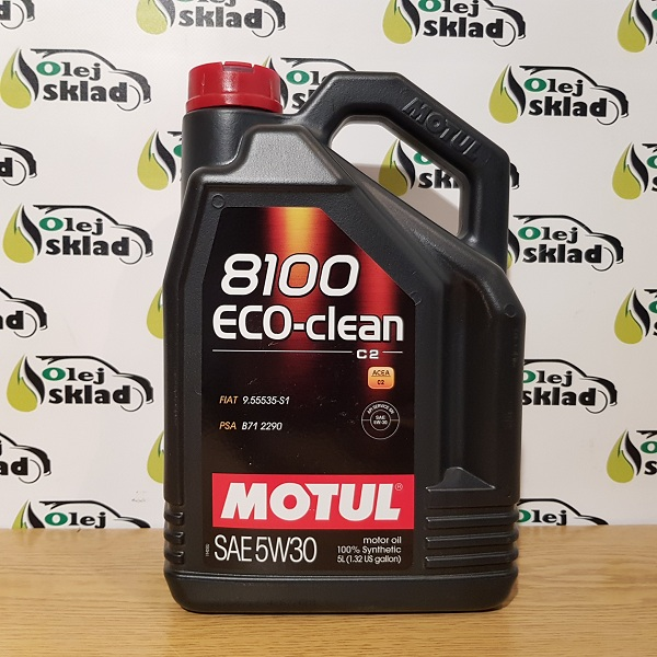 Motul 8100 Eco-Clean 5W-30 C2 4L