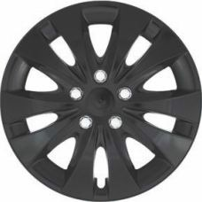 "Puklice STORM CHROME BLACK 16"" -4ks"