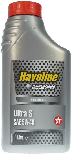 TEXACO HAVOLINE ULTRA S 5W-40 1L