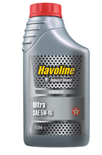 TEXACO HAVOLINE ULTRA 5W-40 1L
