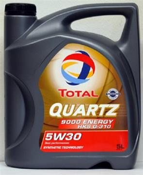 TOTAL QUARTZ 9000 ENERGY HKS 5W-30 5L